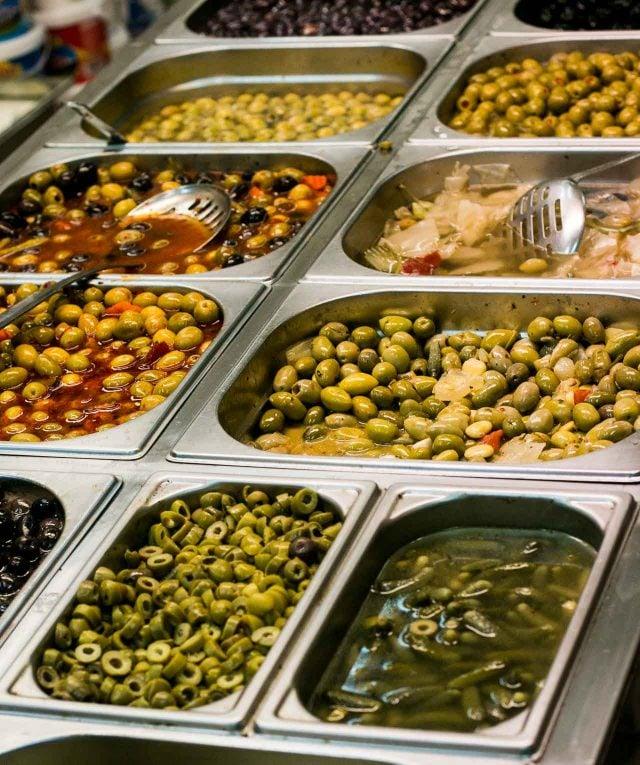 Olives at Sabah