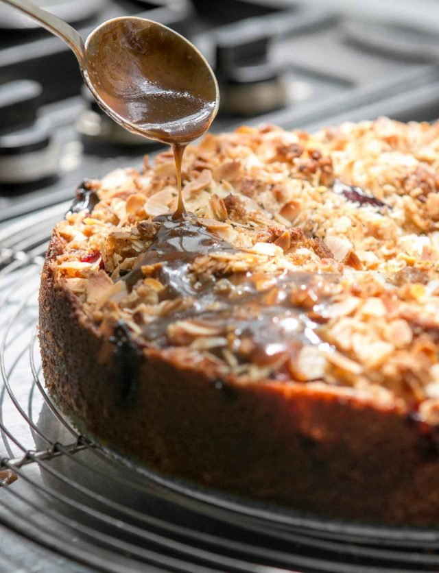 Spiced Toffee Nut Cake