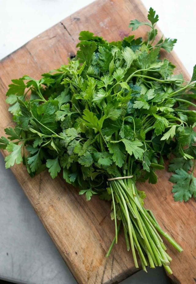 Caponata recipe - parsley