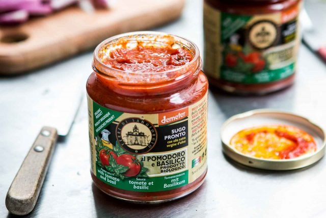 Tomato sauce for Caponata recipe