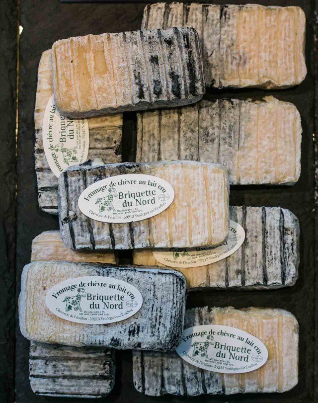 La Ferme de Viltain goat cheese