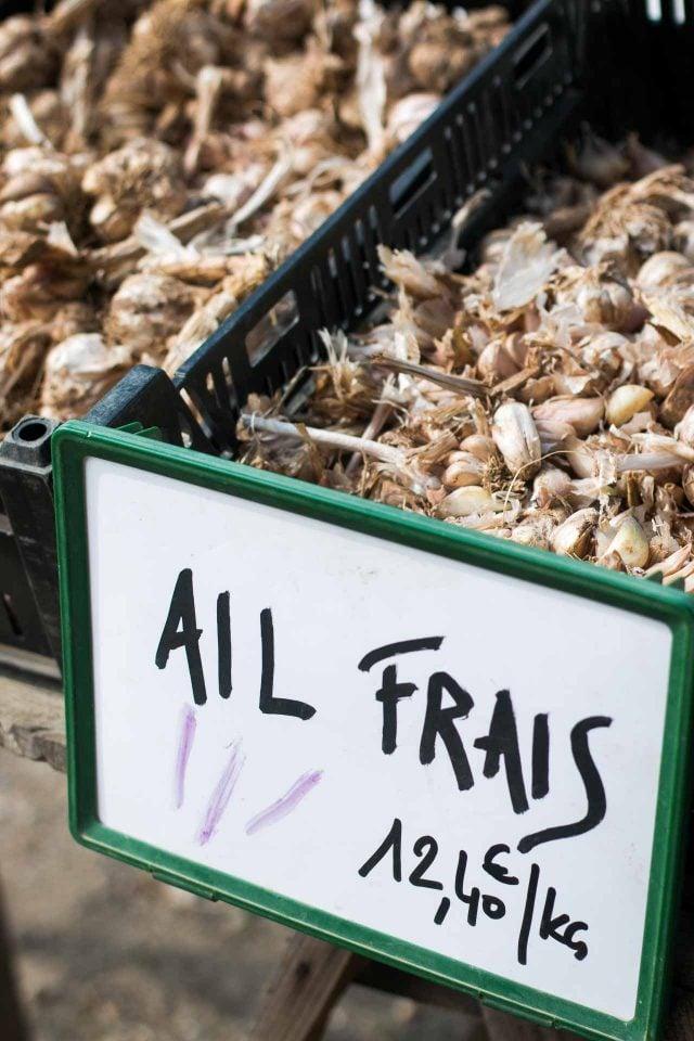 La Ferme de Viltain fresh garlic
