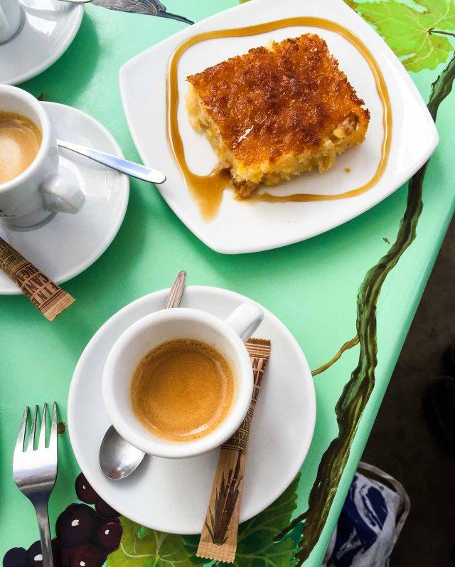 Greek orange cake