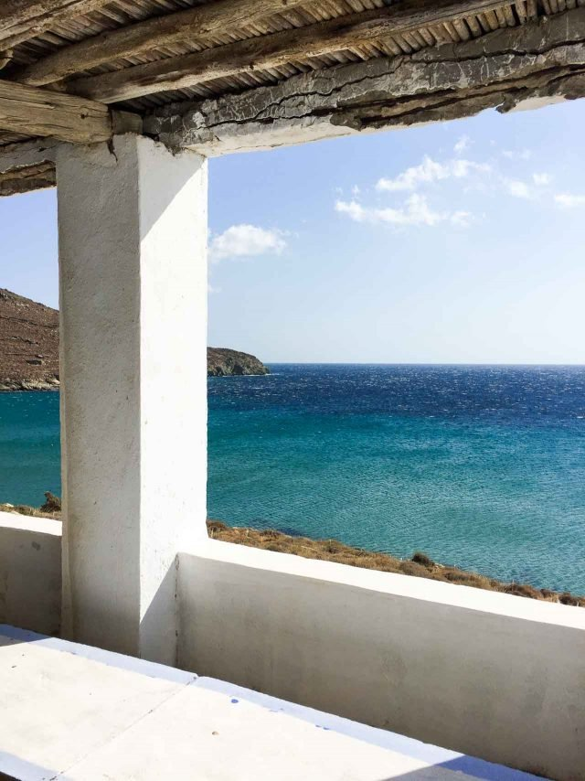 View from Tinos church
