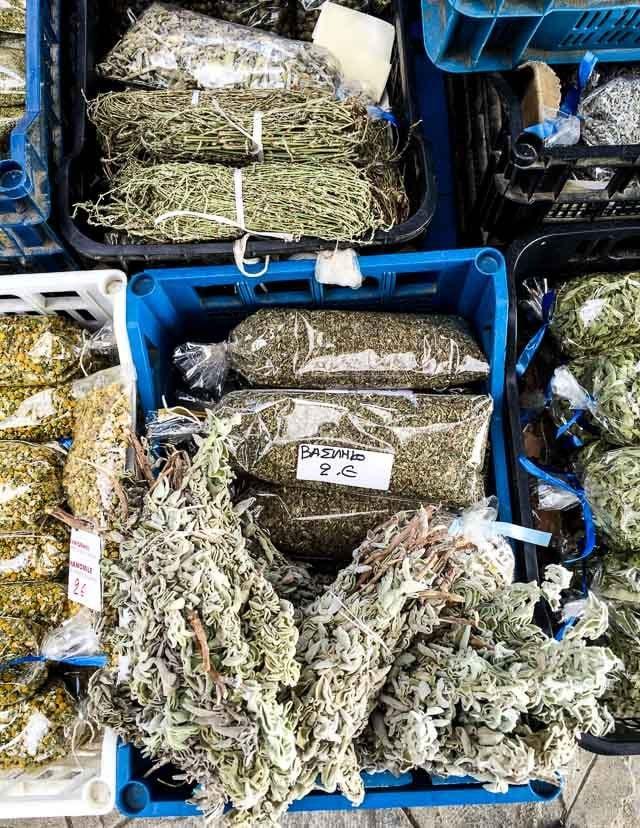 wild Greek herbs