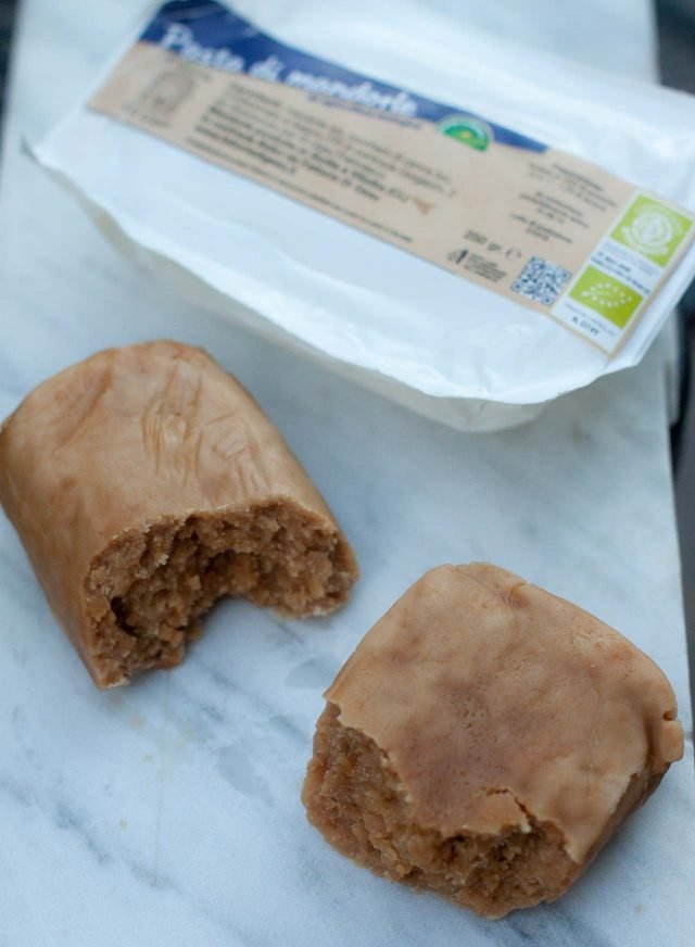 Almond paste for German Apple Almond Cake recipe