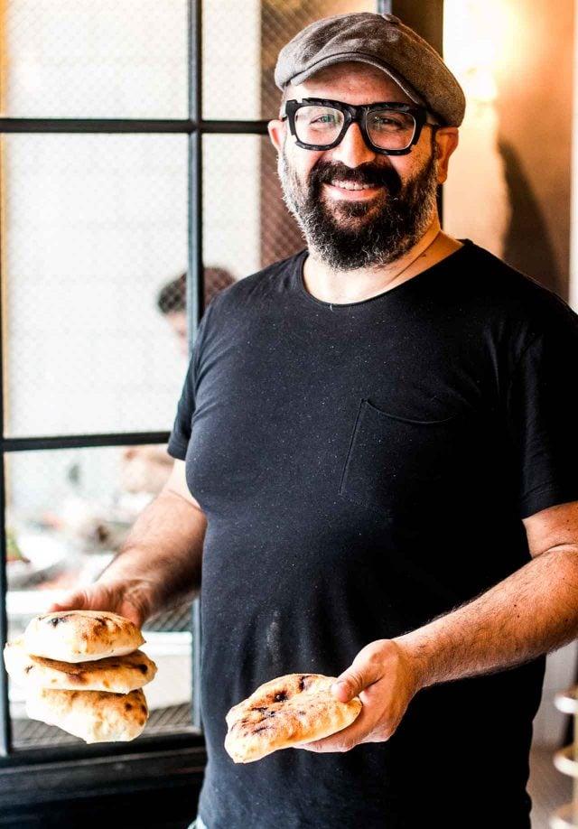 David Azoulay of Merguez & Pastrami deli in Paris