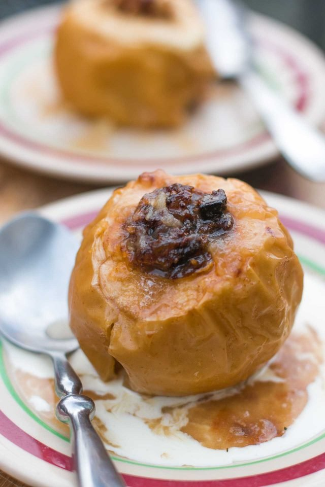 Baked Apples with Ginger