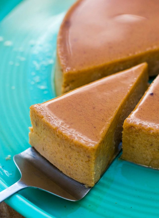 Maple Pumpkin Flan