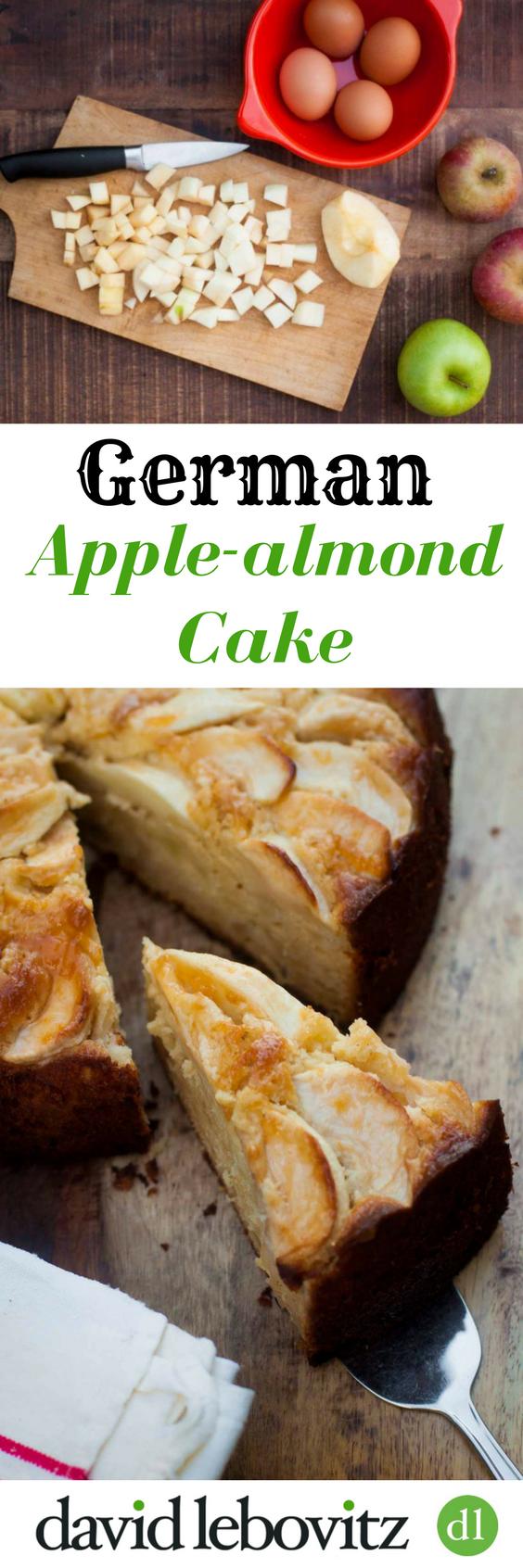 German Apple-Almond Cake