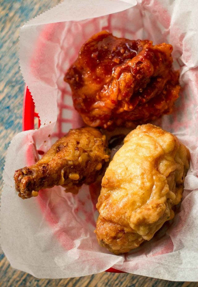 Federal donuts fried chicken
