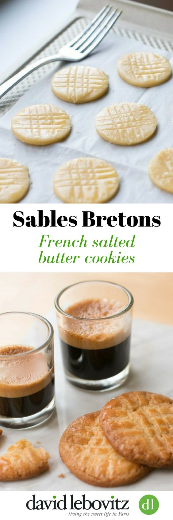Sablé Bretons: French salted butter cookies