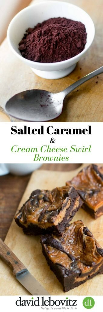 Over the top brownies swirled with salted butter caramel cream cheese. A new, classic chocolate brownie recipe - wow your friends and family!