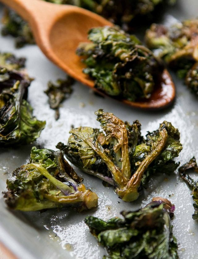 Roasted Kale Sprouts