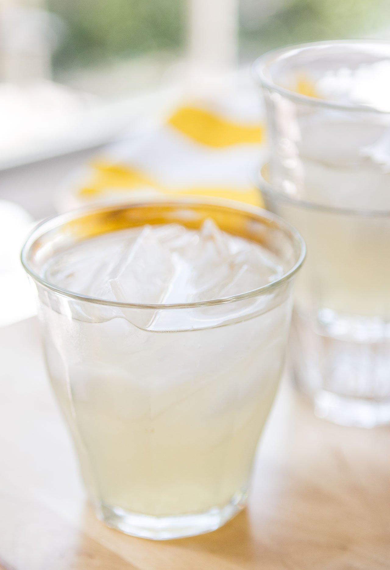 Fresh Ginger Lemonade Recipe