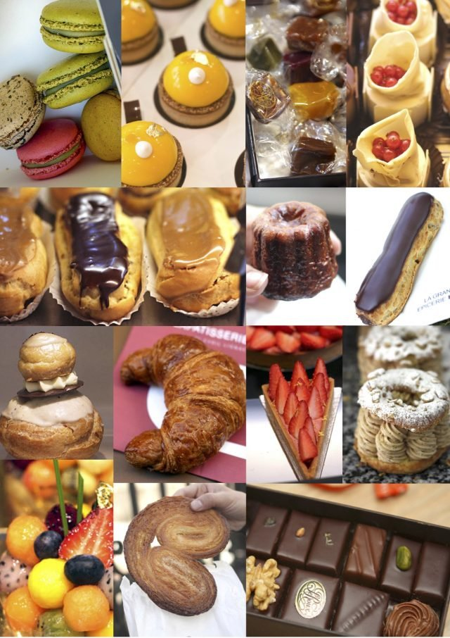 Paris Pastry Shops