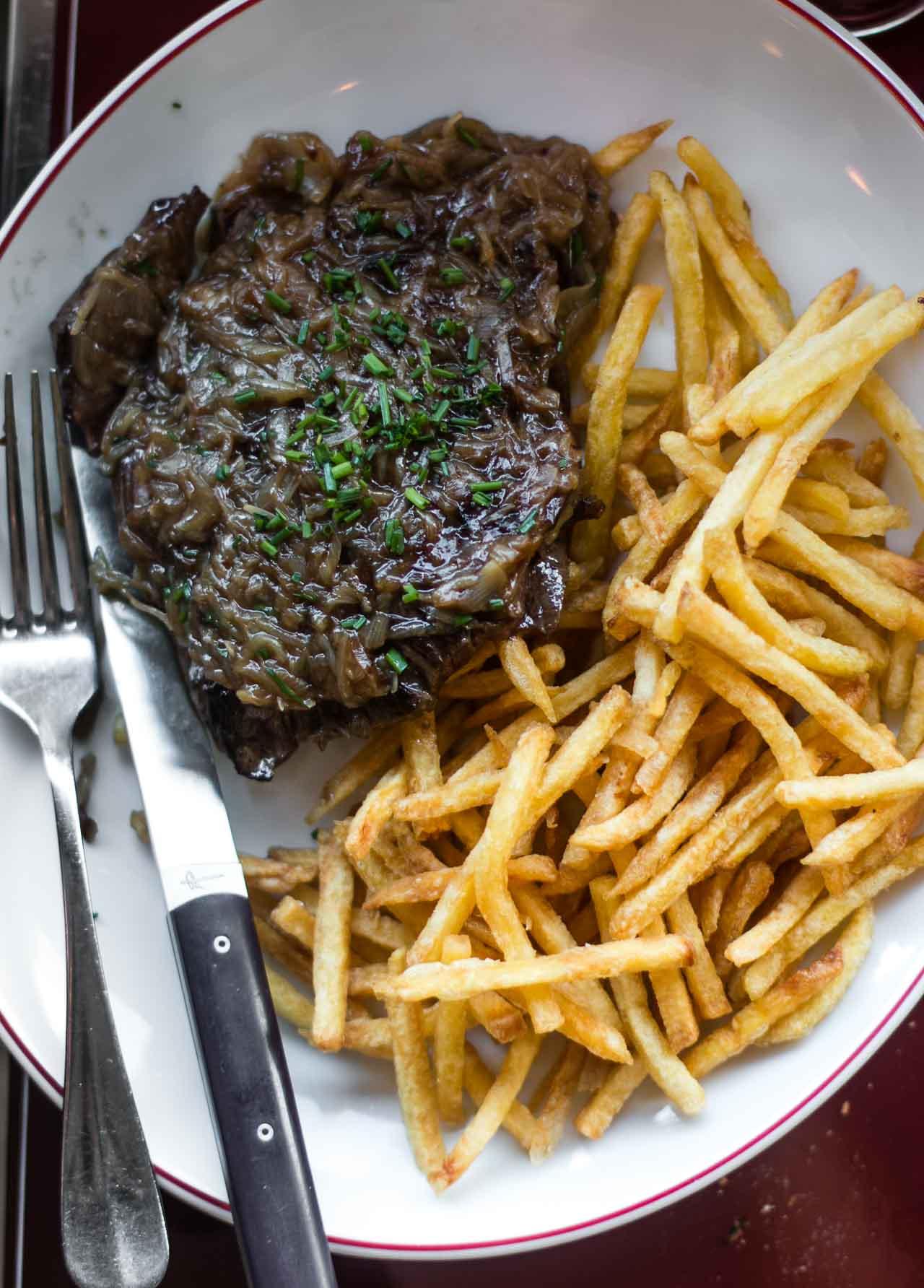 Rotisserie d'Argent, a great classic bistro in Paris!