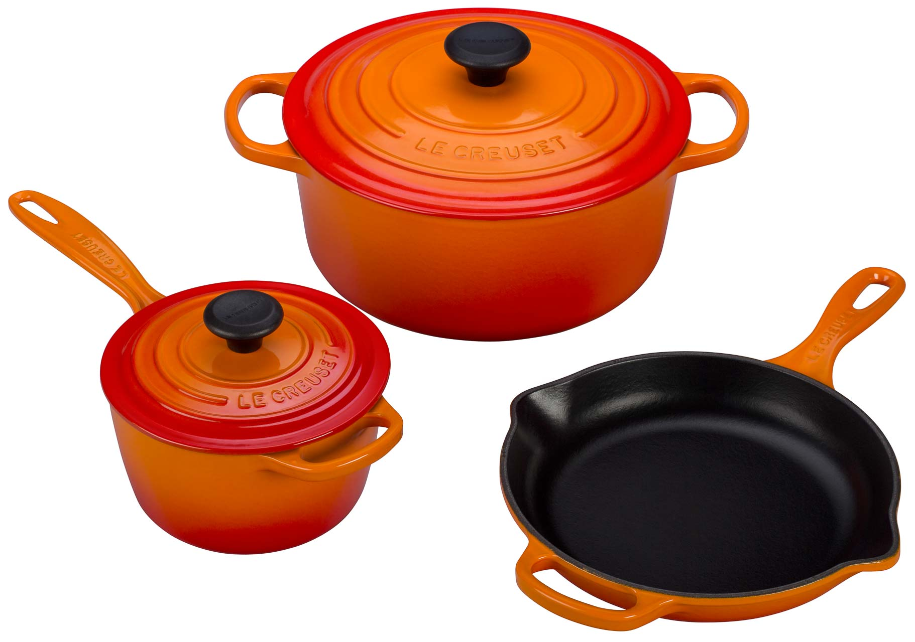 Le Creuset giveaway to celebrate the release of my newest book, L'appart!