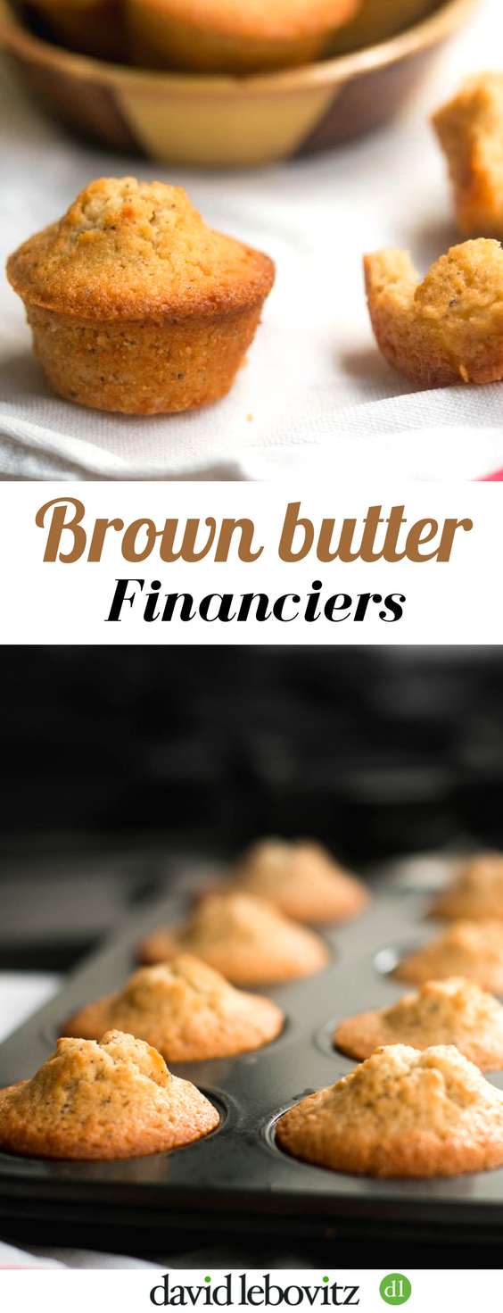 Financiers: Tender French cakes enriched with the nutty taste of browned butter