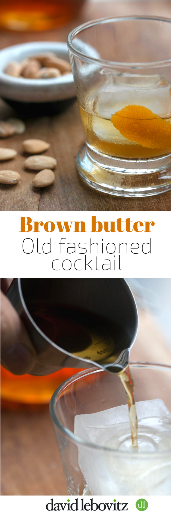 Brown Butter Old Fashioned cocktail
