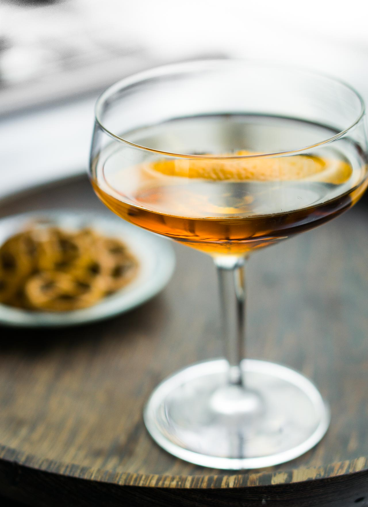A simple, yet sophisticated classic cocktail recipe.
