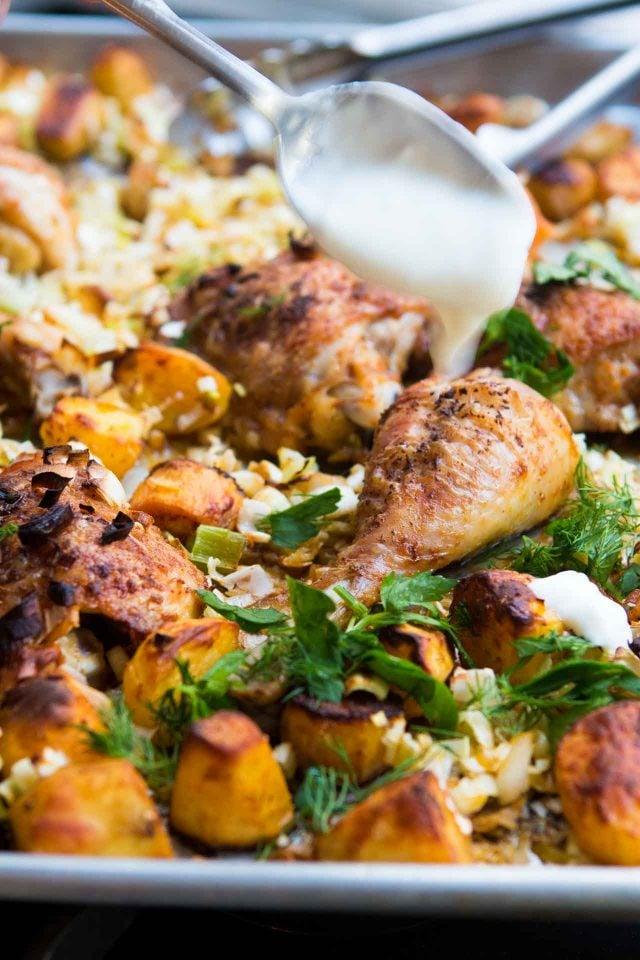 how to make harissa chicken