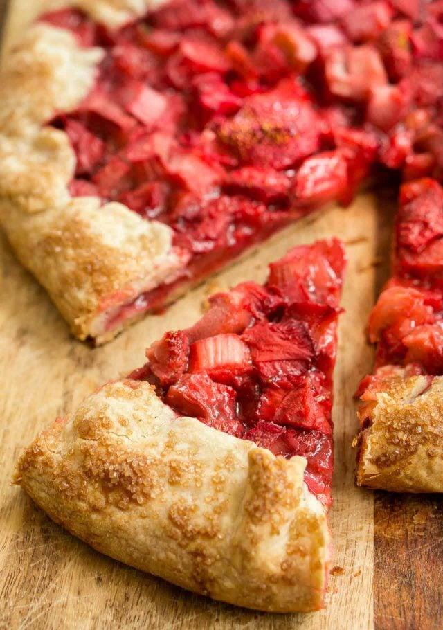 Strawberry Rhubarb Tart