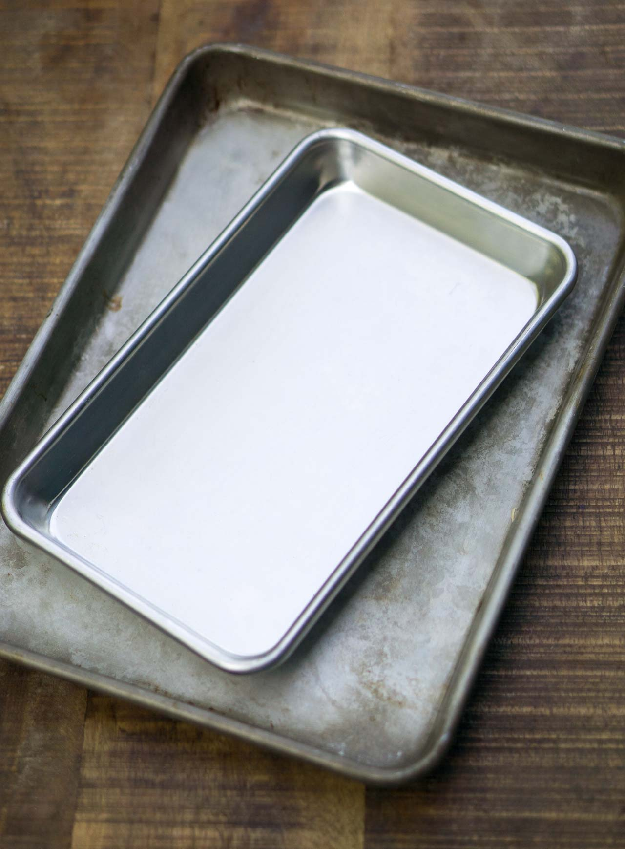 My best new baking find...smaller baking sheets!