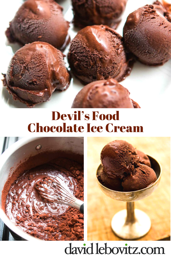 A rich, deep-dark chocolate ice cream