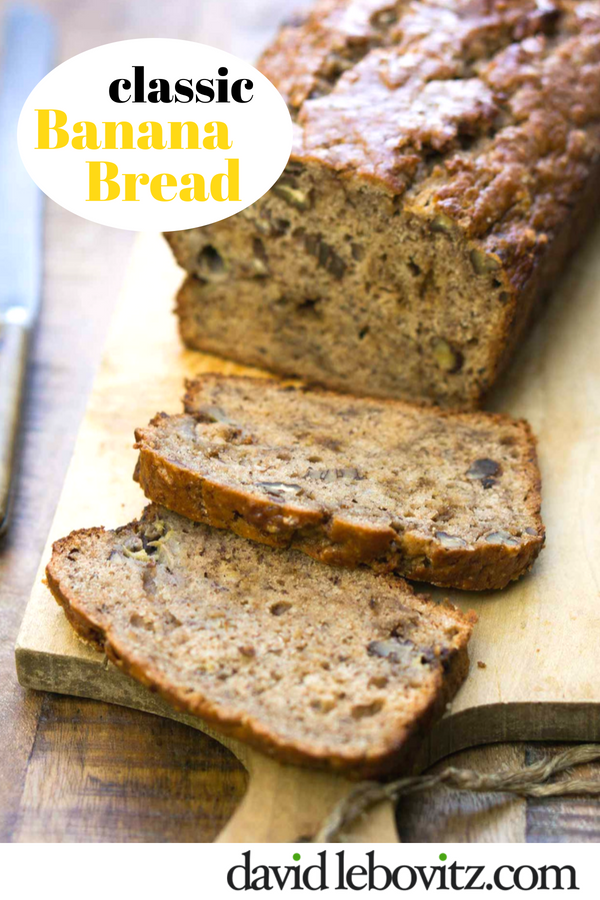 Moist, delicious Banana Bread - the classic!