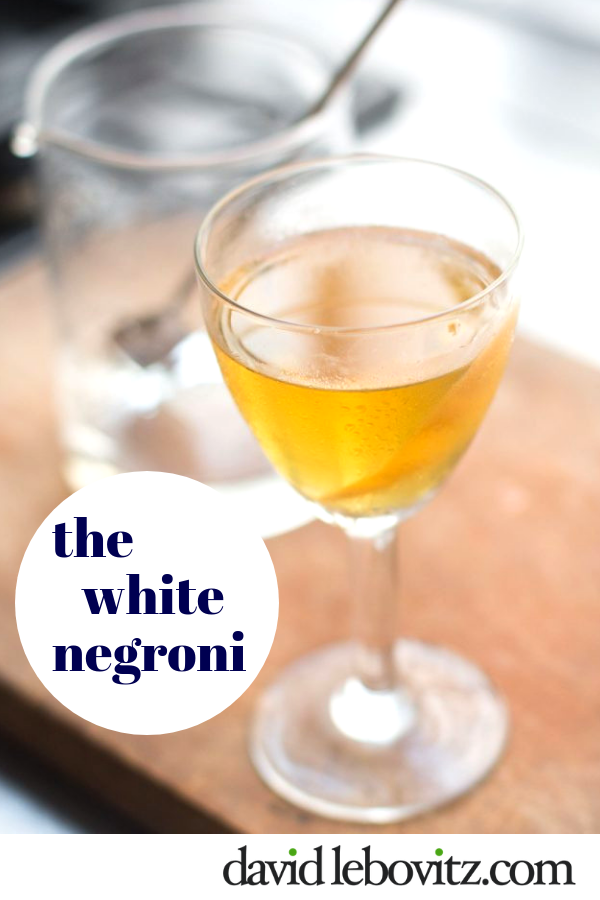 A refreshing take on the classic Negroni, featuring three ingredients, for one terrific cocktail!