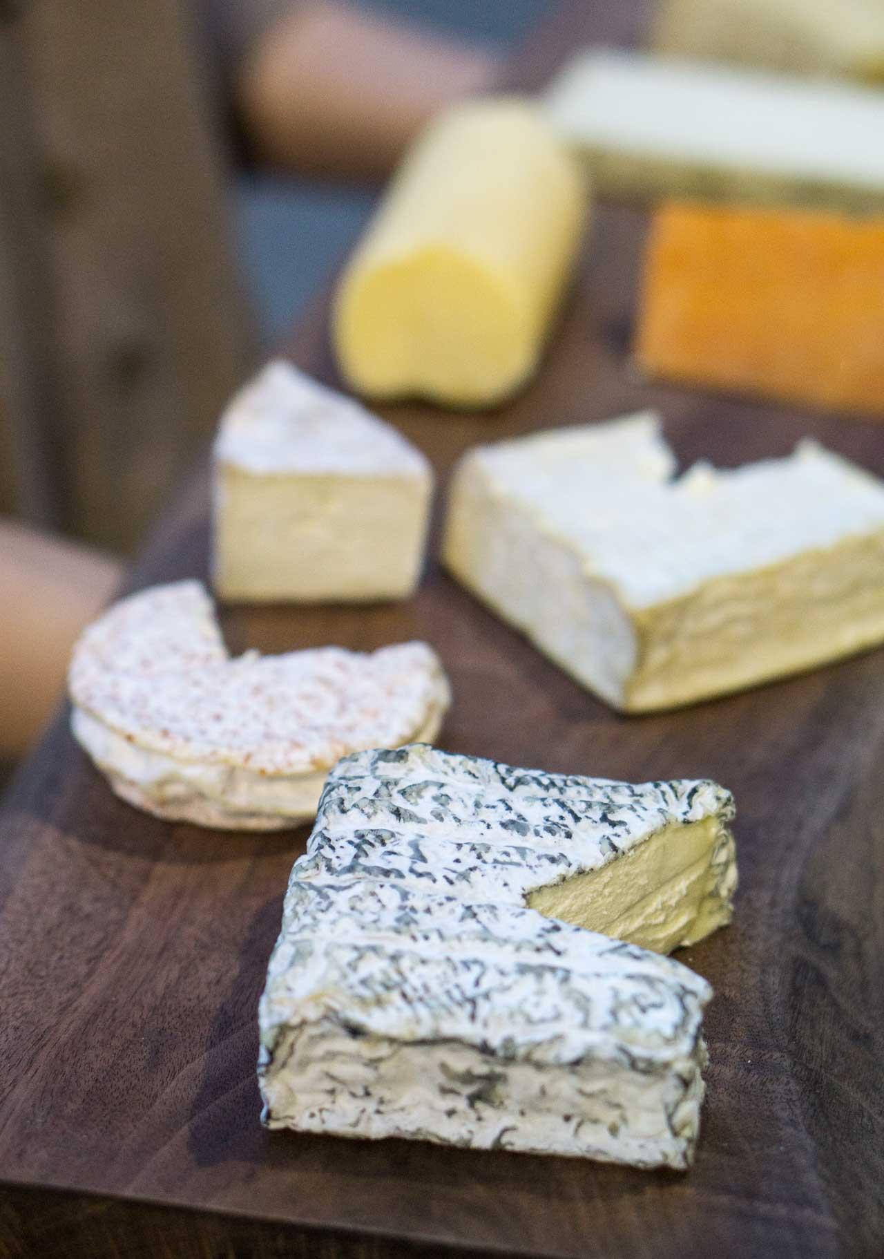 A visit to the cheese ripening caves in Brooklyn, New York.