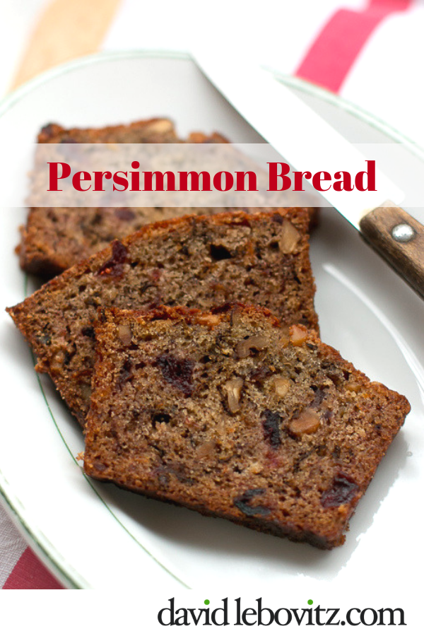 An amazing recipe that uses persimmons for a moist, luscious snack cake!