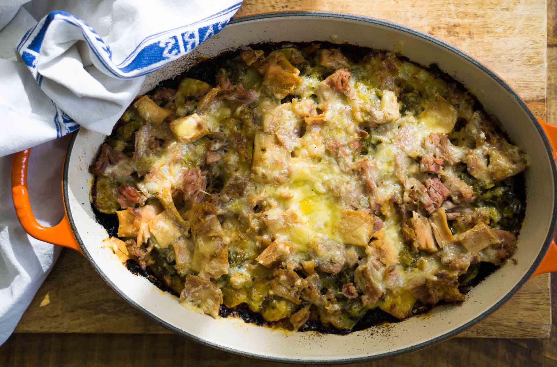 Tuna Melt Zucchini Casserole - David Lebovitz