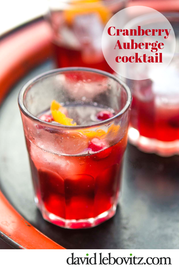 A delicious, colorful cocktail.