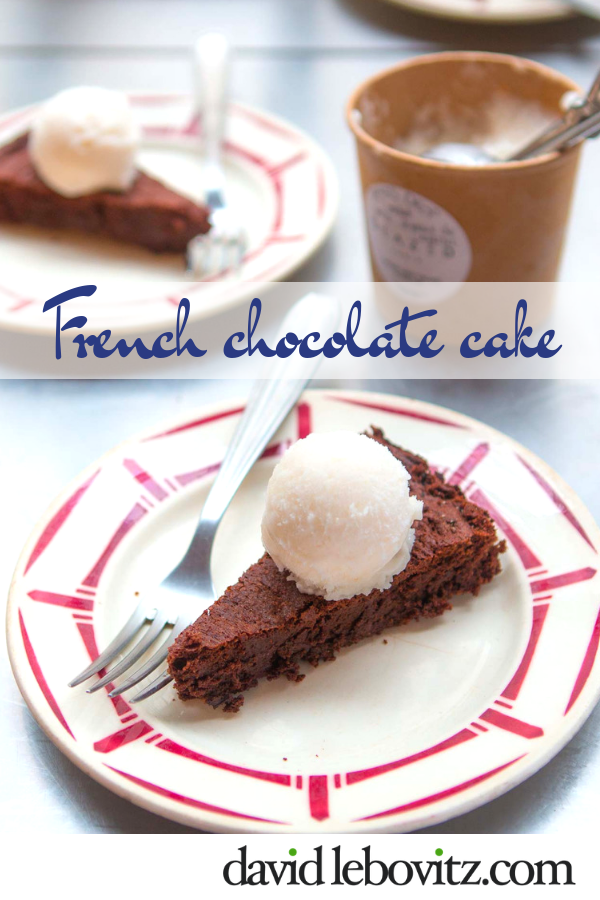 A rich, ultra-chocolate French cake - simple and decadent!