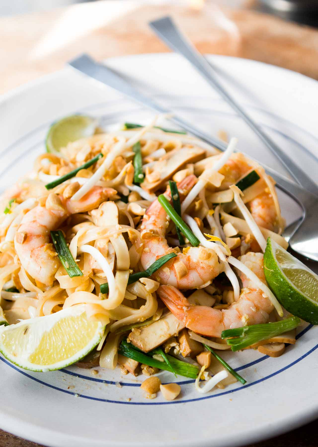 A fast, easy-to-make Thai noodle dish