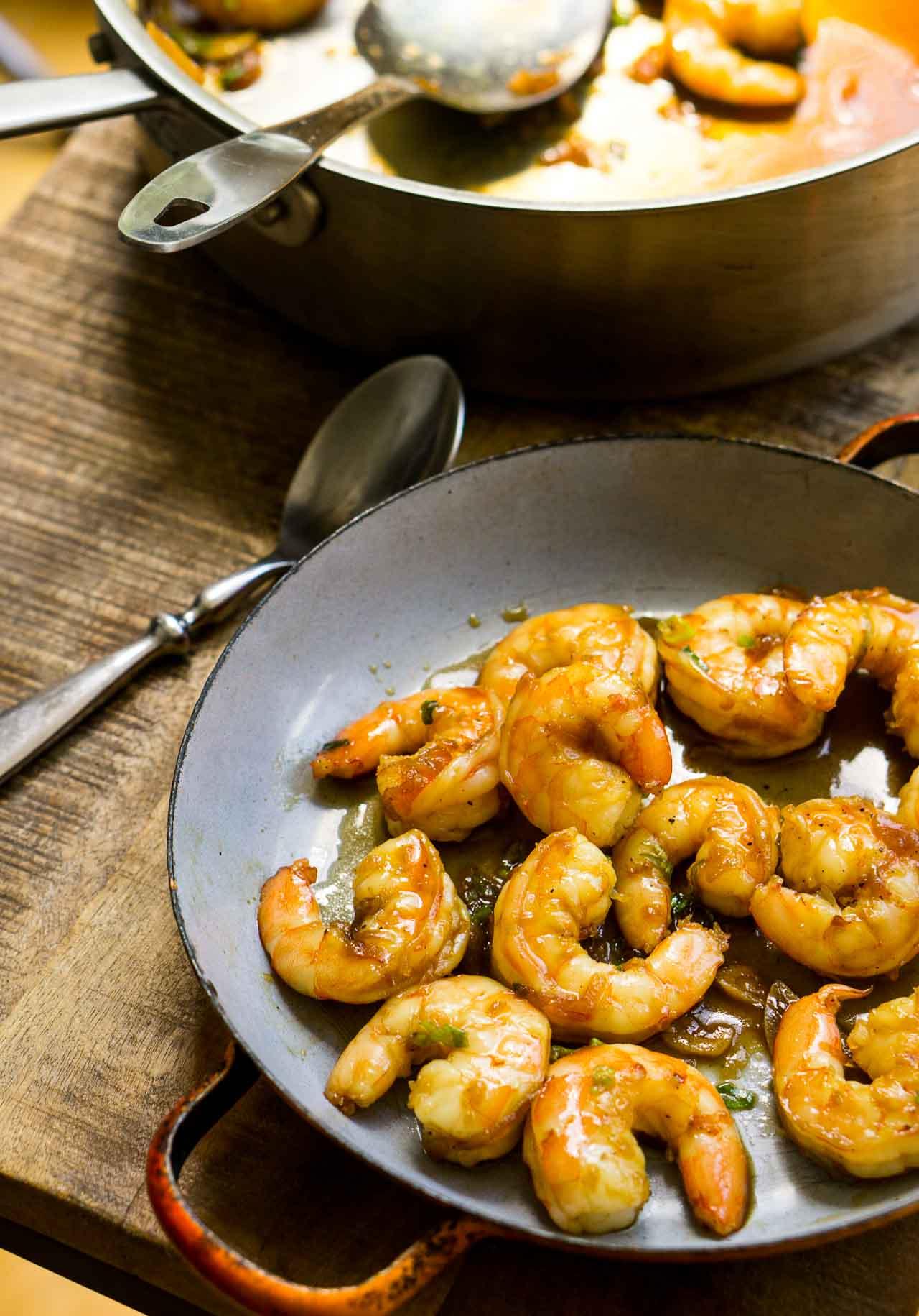 Coconut Caramel Shrimp