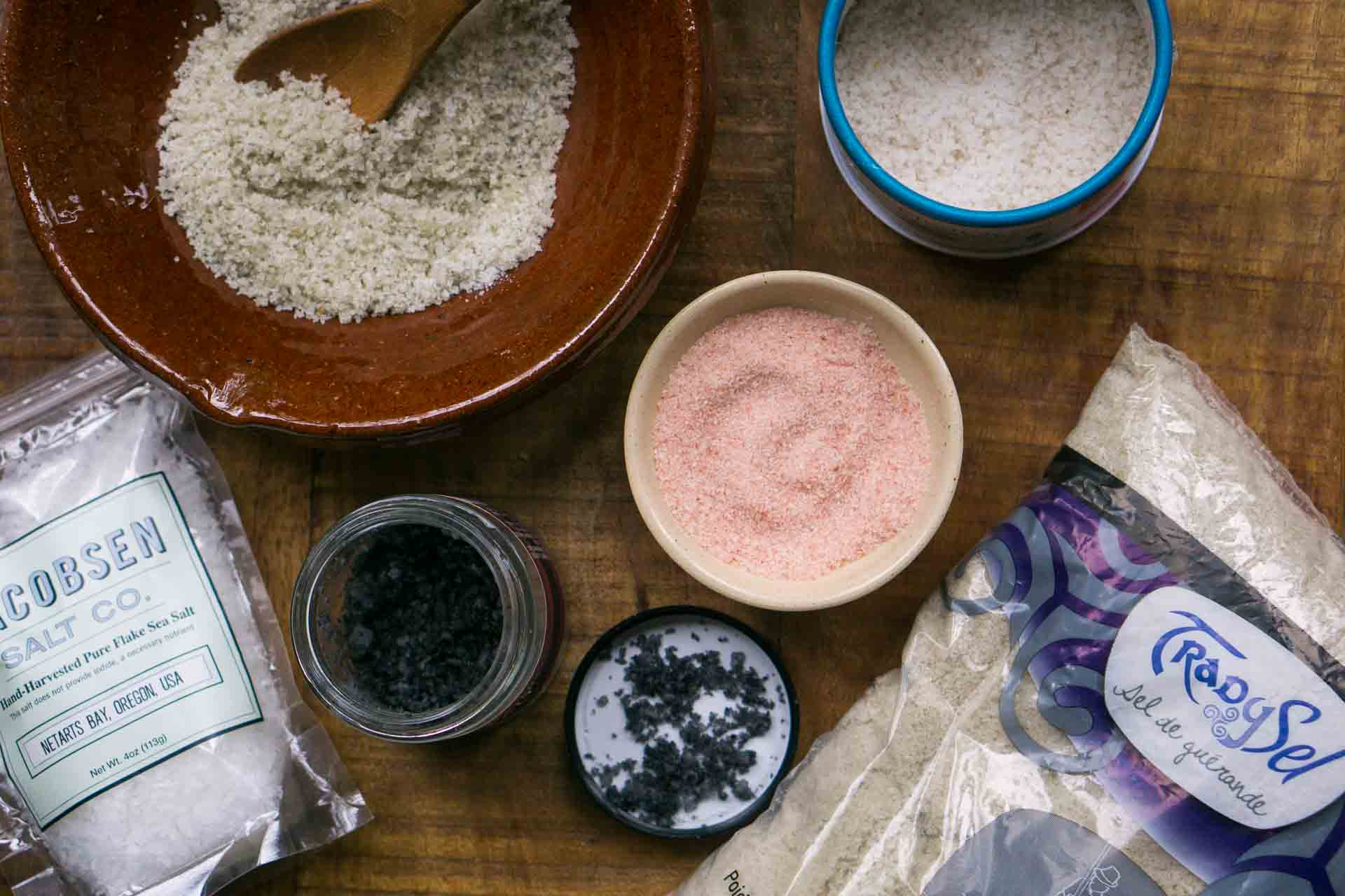 Facts about different kinds of salt for baking and cooking