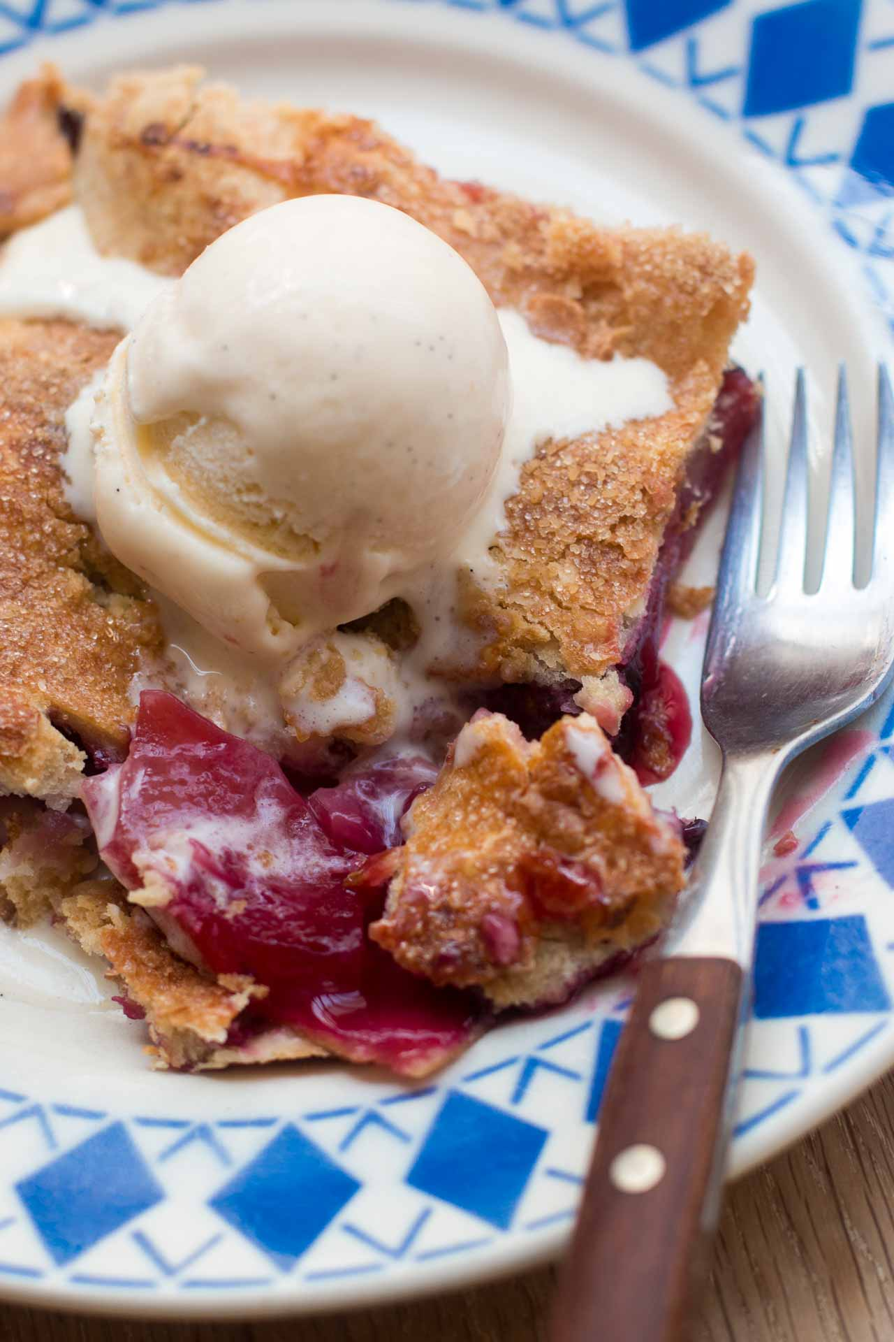 Apple Blackberry Slab Pie recipe