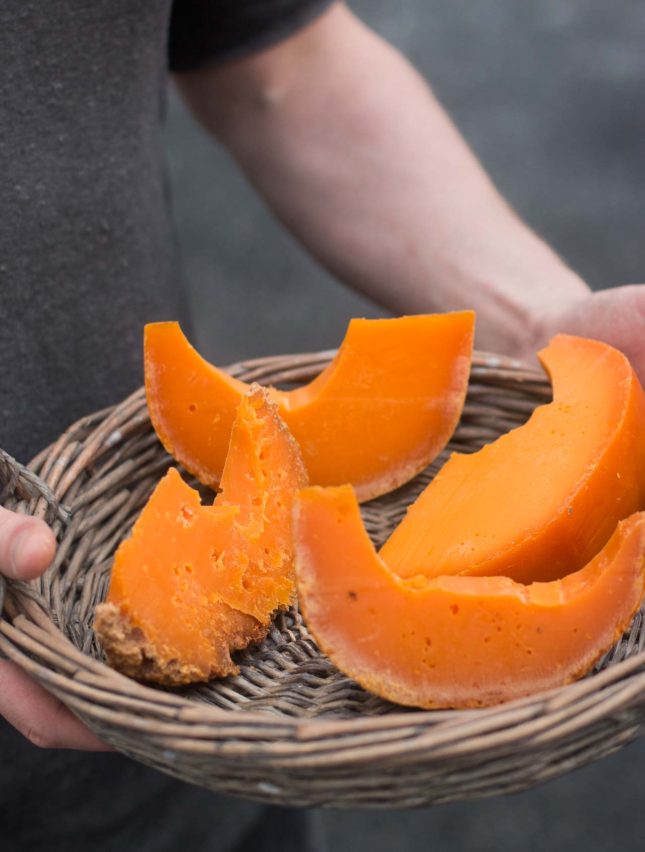Making Mimolette Cheese