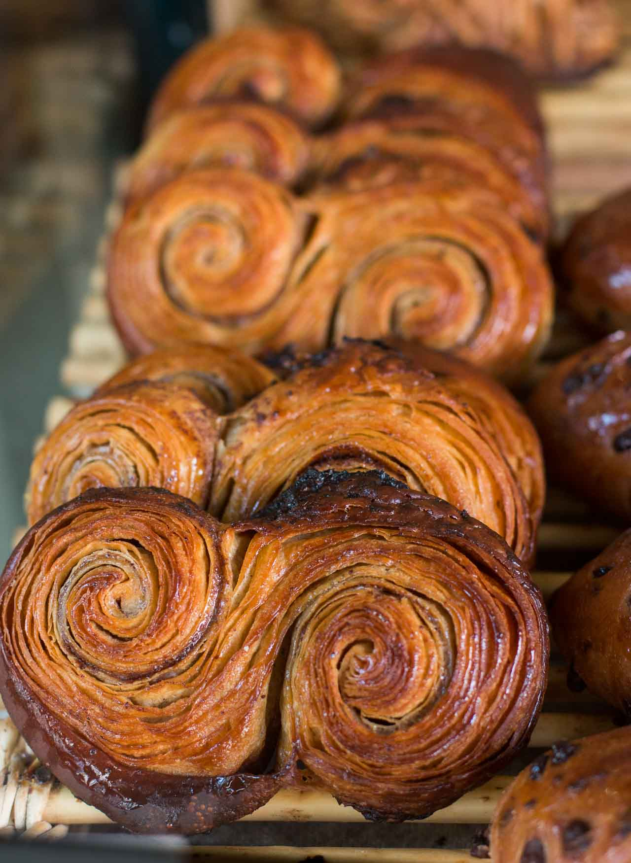 One of the newest (and best) bakeries in Paris featuring long-fermented doughs and rustic French pastries.