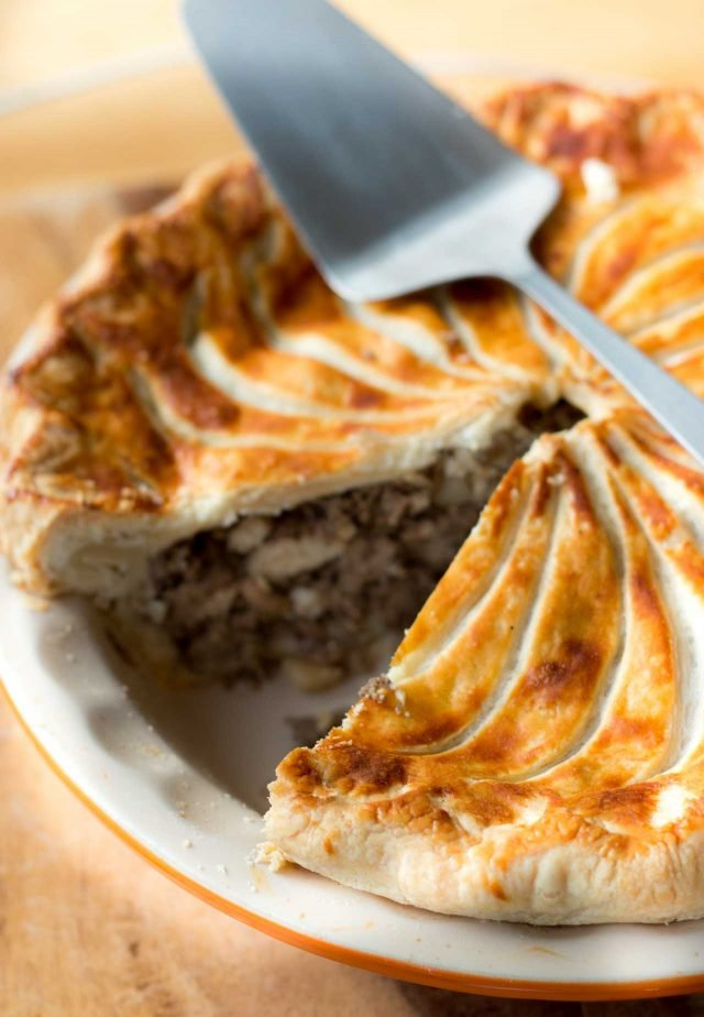 Tourtiere Meat And Potato Pie Recipe