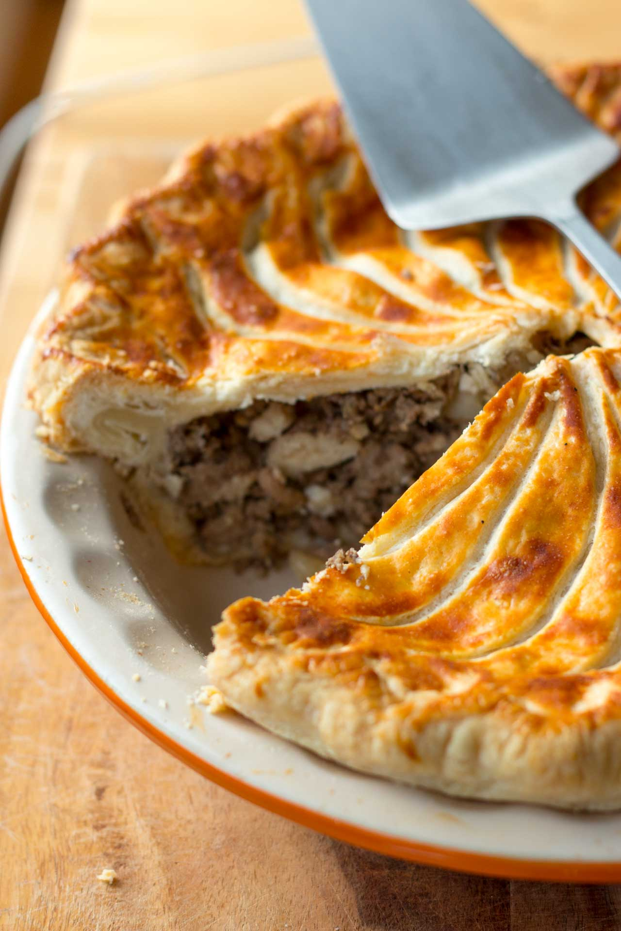 Tourtiere: Meat and Potato Pie recipe