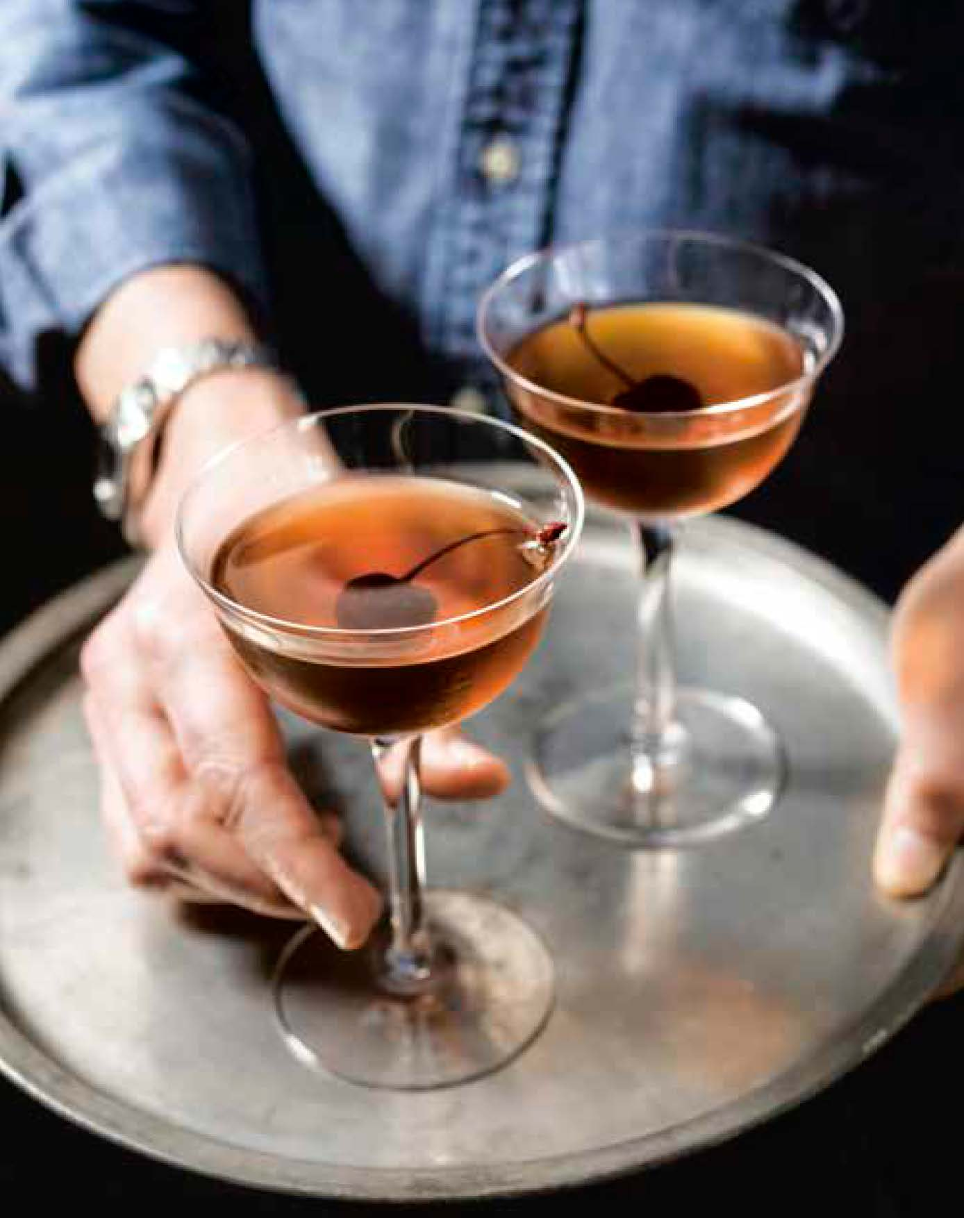 A French take on the classic with cognac, orange liqueur and sweet vermouth. From Drinking French: The iconic cocktails, apéritifs, and café traditions of France, with 160 recipes (Ten Speed Press)