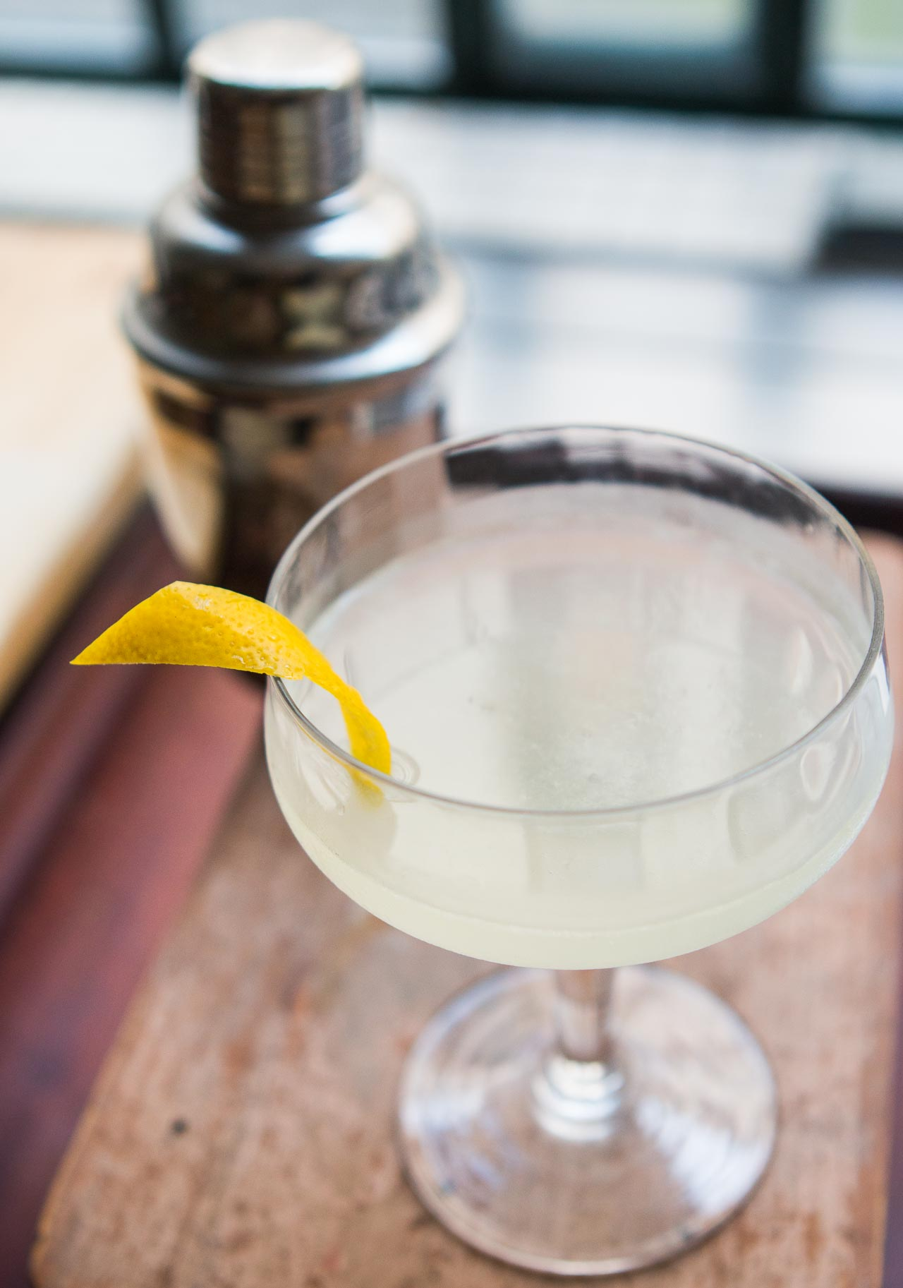 The White Lady cocktail