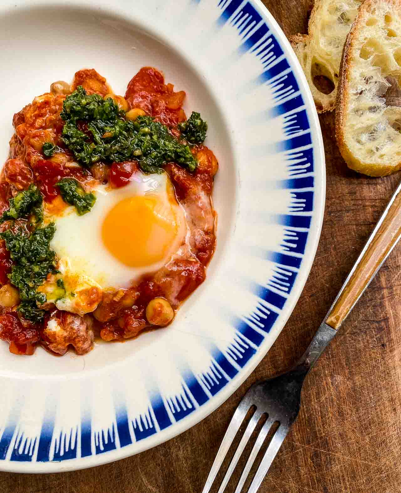 Tomato and Chickpea Shakshuka