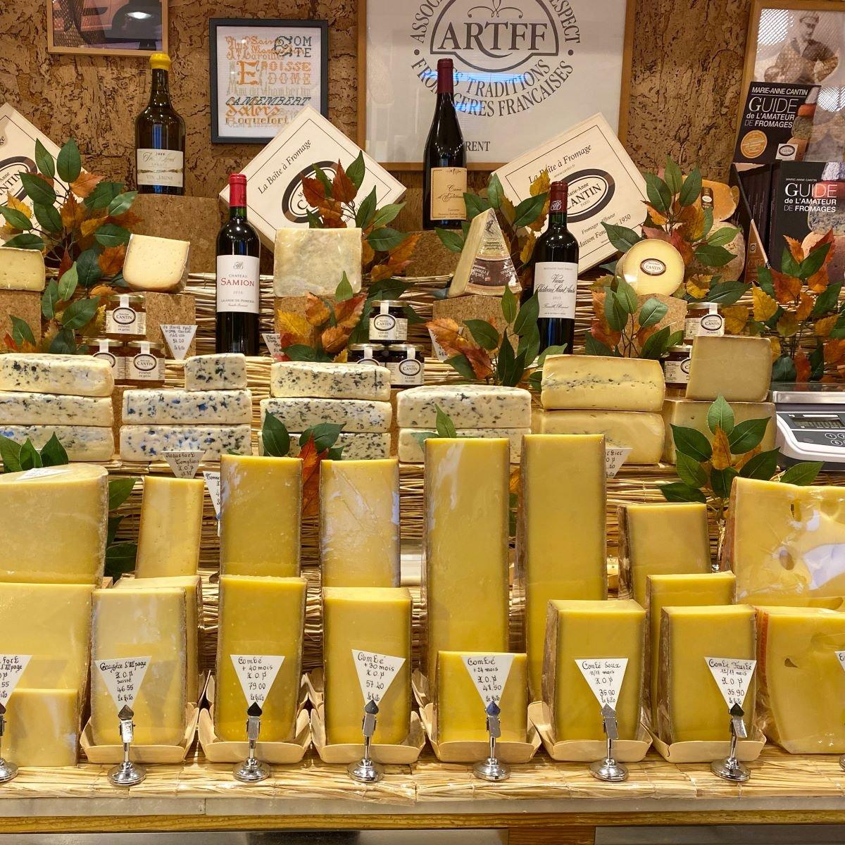 Top 10 Cheese Shops in Paris