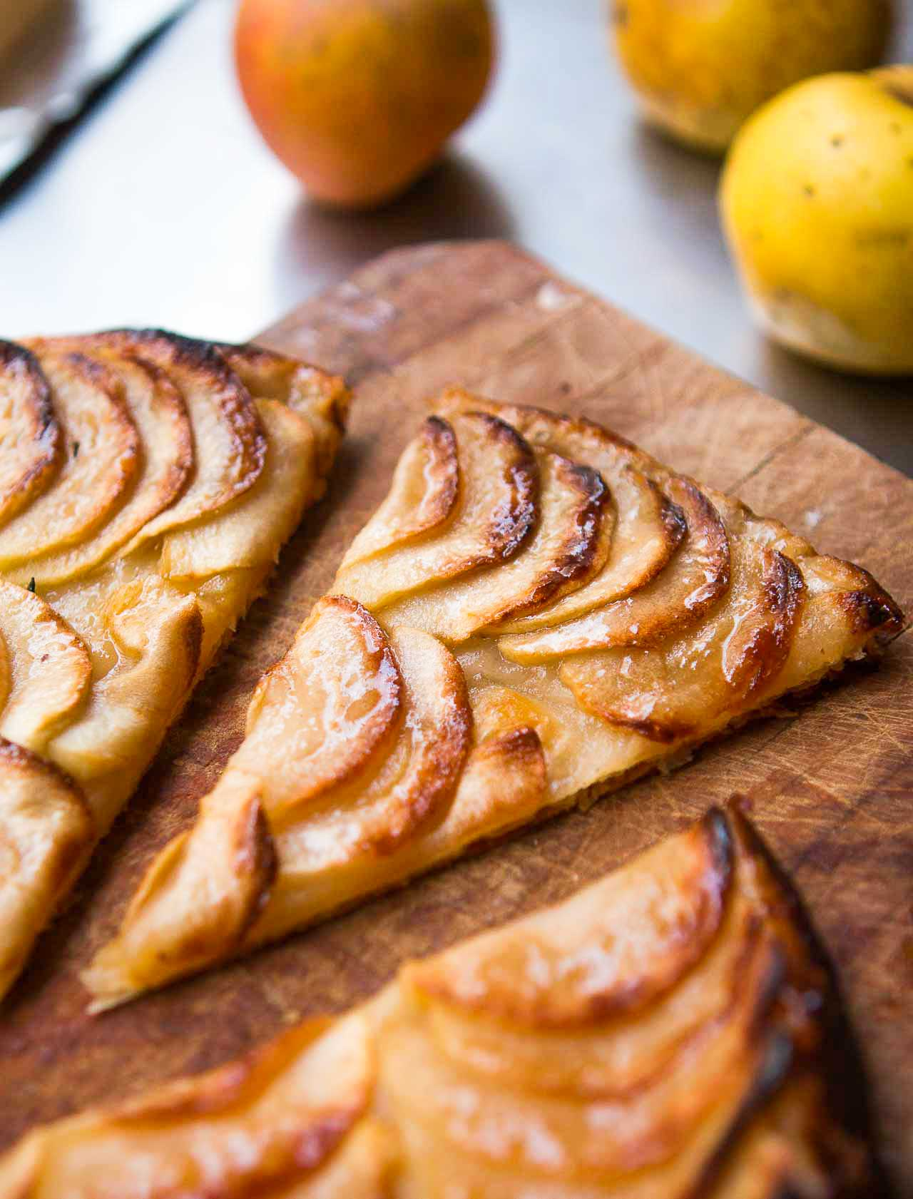 French Apple Tart Tarte Fine Aux Pommes David Lebovitz